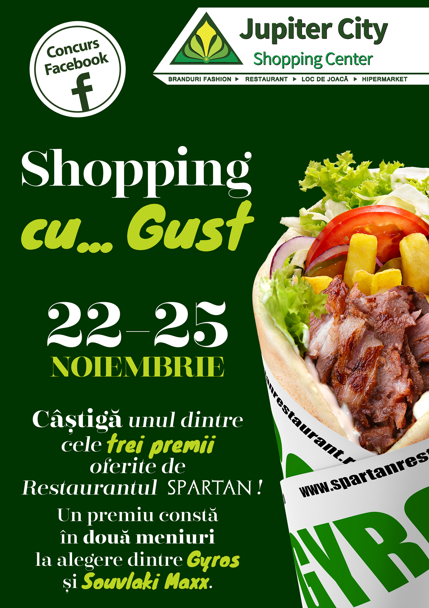 Concurs Facebook – Shopping cu… gust